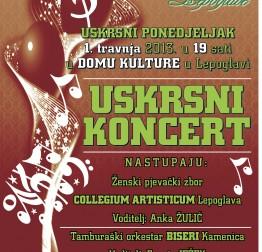 Najava: Tradicionalni Uskrsni koncert