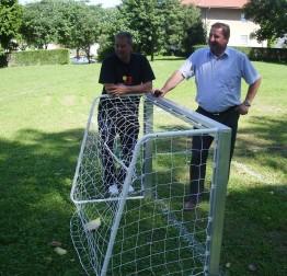 Grad Lepoglava u gradskom parku uredio malonogometno igralište za djecu