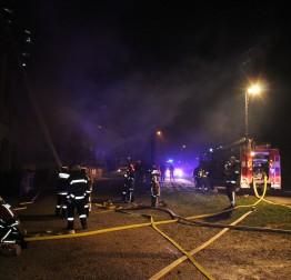 Vatrogasna vježba VZGL u Kamenici