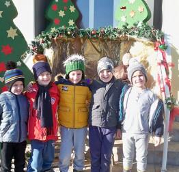 DJEČJI VRTIĆA RUNOLIST Vrtićki mališani čestitali Božić