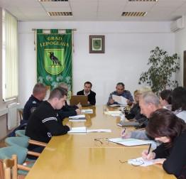 Sjednica Vijeća za prevenciju kriminaliteta - Stanje u Lepoglavi zadovoljavajuće