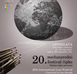 U Lepoglavi će od 22. do 25. rujna biti održan Međunarodni festival čipke