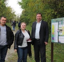 Susret gradonačelnika grada Lepoglave sa zamjenicom načelnika Općine Sveti Martin na Muri