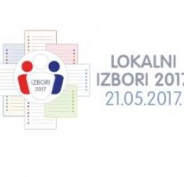 Konačni rezultati lokalnih izbora 2017 - prvi krug