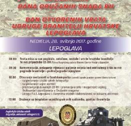 Obilježavanje Dana OS RH u Lepoglavi 28.svibnja