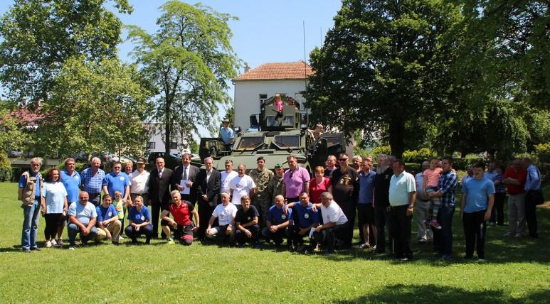 LokalnaHrvatska.hr Lepoglava Dan Oruzanih snaga obiljezen u Lepoglavi
