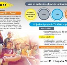 COLAS Hrvatska nudi stipendije