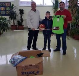 Vrijedna donacija sportske opreme učenicima lepoglavske škole