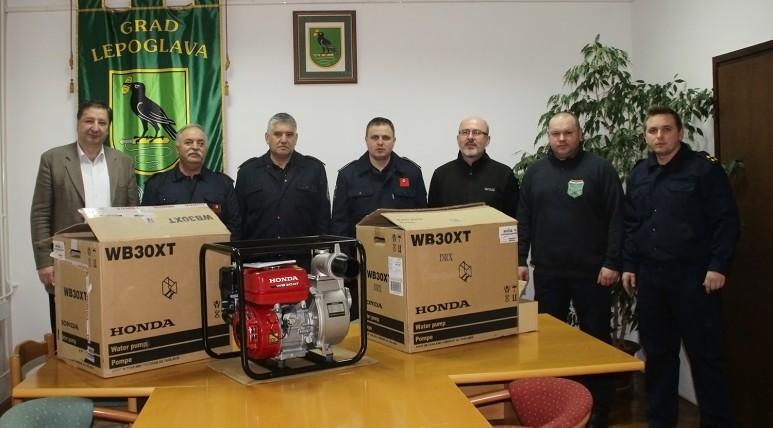 LokalnaHrvatska.hr Lepoglava Grad Lepoglava vatrogascima nabavio pumpe
