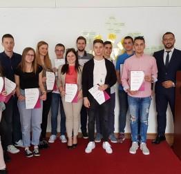 Članovi gradskog Savjeta mladih na edukaciji Udruge gradova