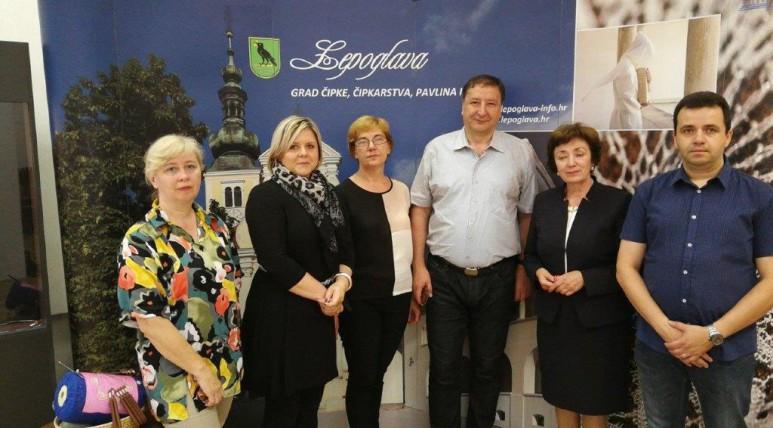LokalnaHrvatska.hr Lepoglava Lepoglavska cipka predstavljena u Sarajevu