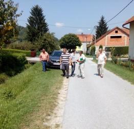 Pred uređenjem potok Gečkovec, a radovi se nastavljaju na potocima Žarovnica, Dunaj i Šumec