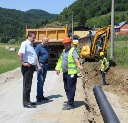 U tijeku radovi na kapitalnoj investiciji u MO Žarovnica – cesti Antekolovići – Huđi