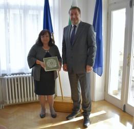 Pripremajući 24. Međunarodni festival čipke organizatori se sastali s veleposlanicom Republike Bugarske