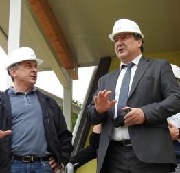 Potpredsjednik Vlade Predrag Štromar obišao radove na projektima u Lepoglavi