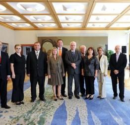 Delegacija Festivala i Grada Lepoglave kod predsjednika Republike Ive Josipovića