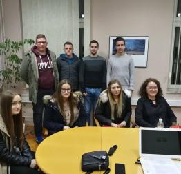 14. prosinca Konstituirajuća sjednica gradskog Savjeta mladih
