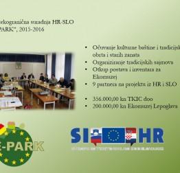 DE-PARK - IPA Slovenija – Hrvatska
