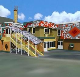 Rekonstrukcija (sanacija, adaptacija i nadogradnja) zgrade dječjeg vrtića i izgradnja pomoćne zgrade