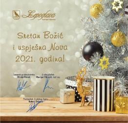 Blagoslovljen Božić i sretna nova 2021. godina !