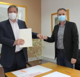 Potpisan ugovor o sanaciji ceste u naselju Sestrancu