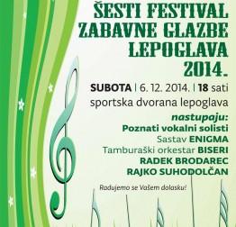 NAJAVA U subotu Festival zabavne glazbe